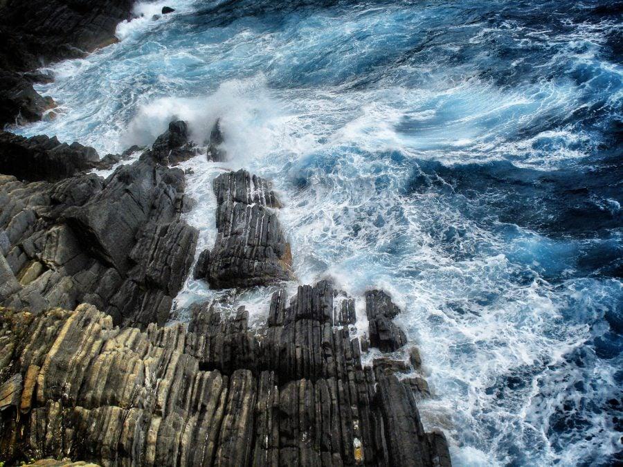 Țărmul pe Via dell'Amore, parcul Național Cinque Terre, Italia