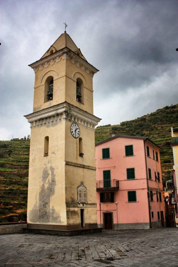 Turnul bisericii din Manarola, Cinque Terre