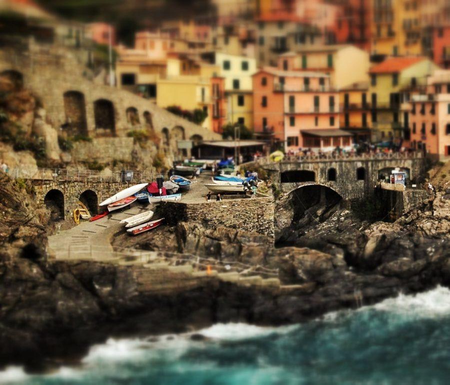 Vacanță de vis în Manarola, Cique Terre, Liguria, Italia