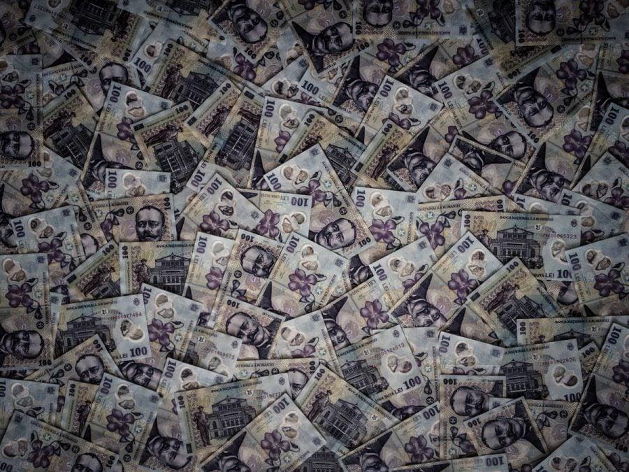 Covor de bani