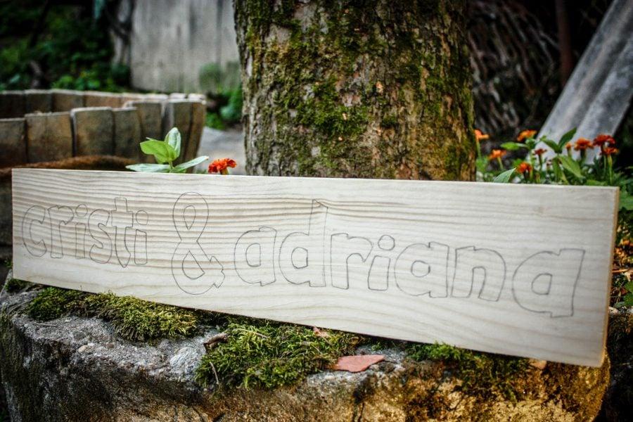 Cristi & Adriana, nr. 83, cioplire in lemn, Bigar