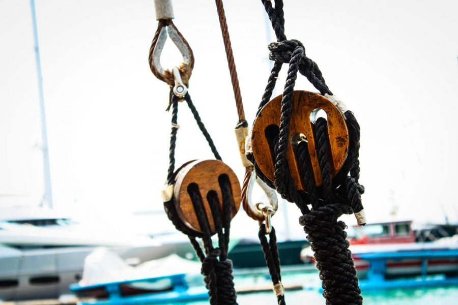Cabluri, sfori și scripeți