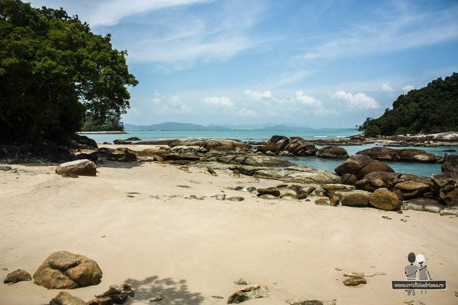 Plajă privată în Langkawi