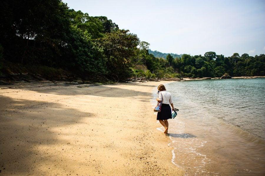 Plimbare pe Black Sand Beach