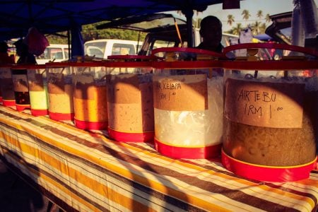 Suc colorat cu gheață, Kuah, Langkawi