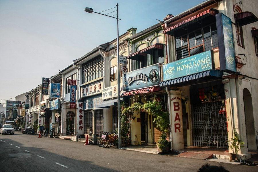 Clădiri în Penang