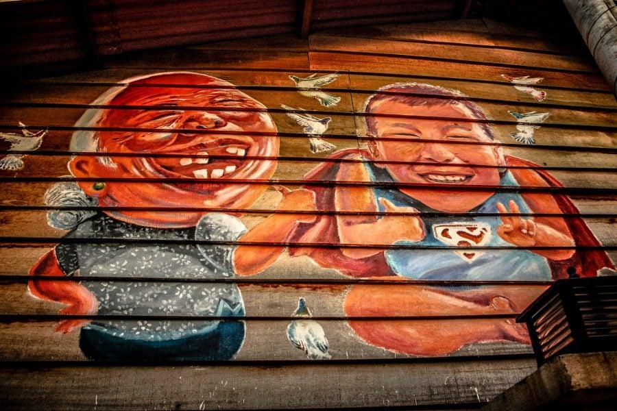 Penang Street Art - Supereroi