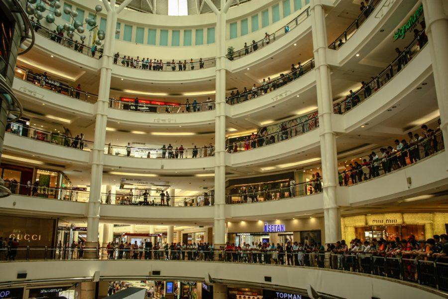 Mall în Kuala Lumpur, Malaysia