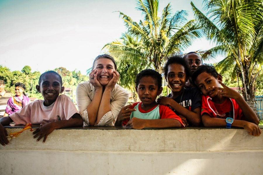 Copii din Papua