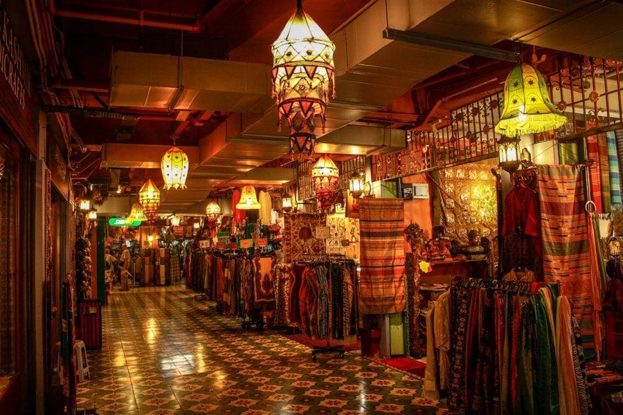Central Market, interior, Kuala Lumpur
