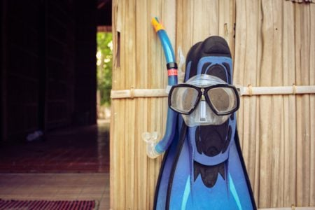 Mască de snorkeling, Raja Ampat, Papua