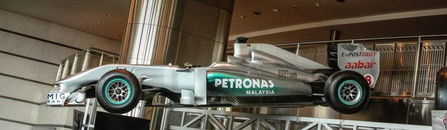 Mașină F1 Petronas, Kuala Lumpur