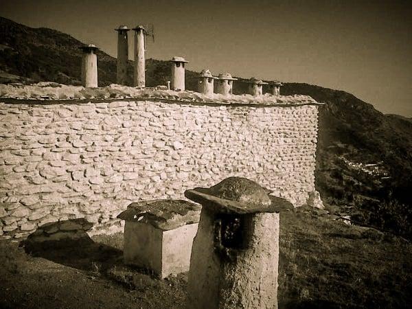 Zid alb in Capileira