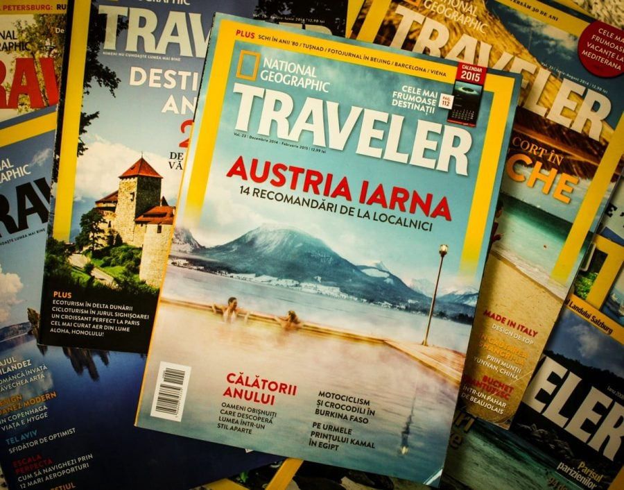 Coperta National Geographic Traveler 2014