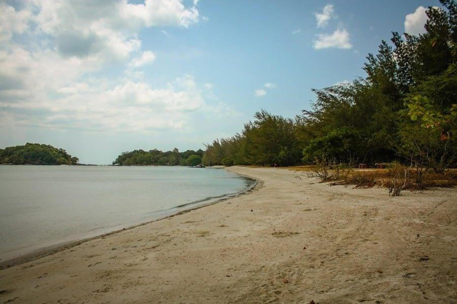 Pantai Kok, plaja port Telaga, Langkawi