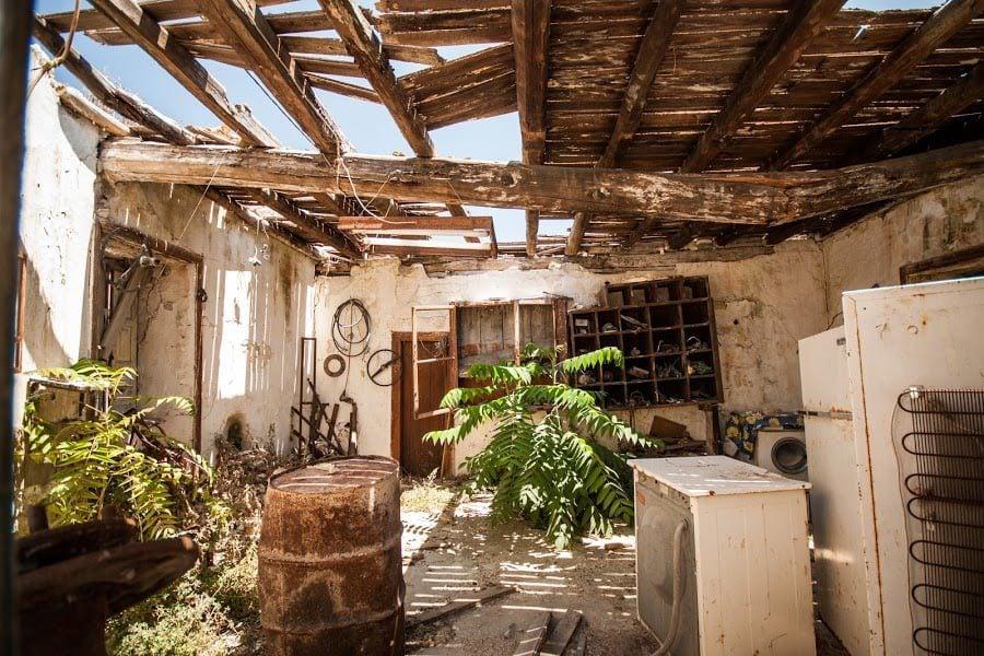Casă părăsită Zakynthos