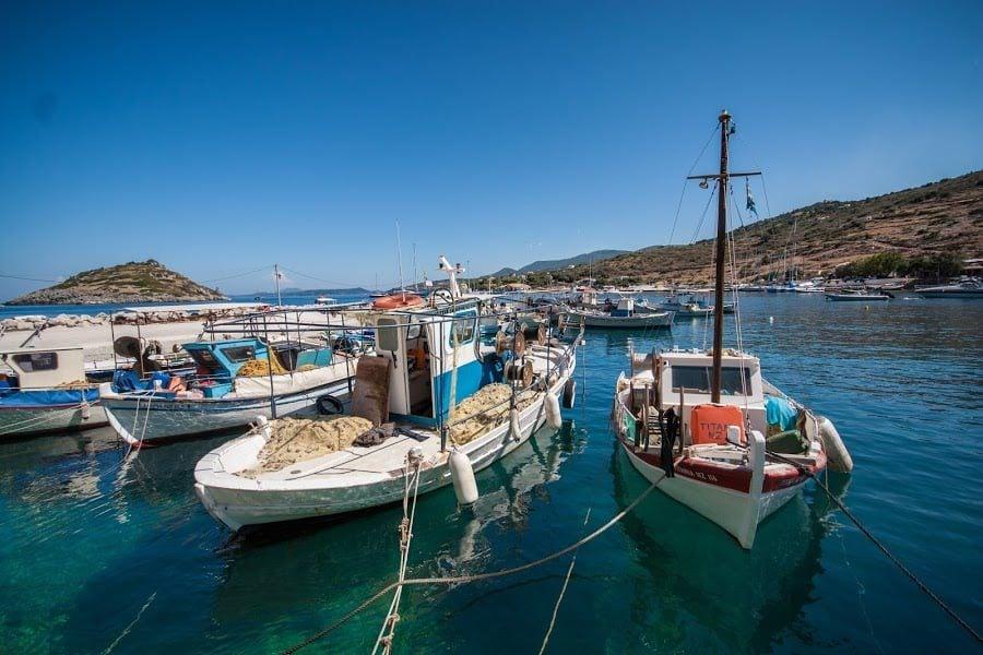 Portul din St. Nicholas, Zakynthos