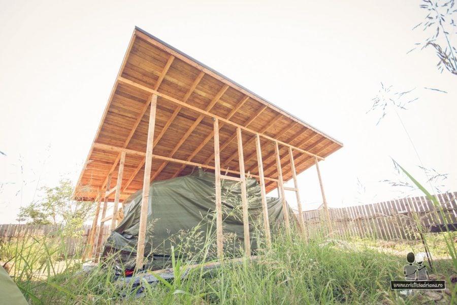 Schelet lemn casa