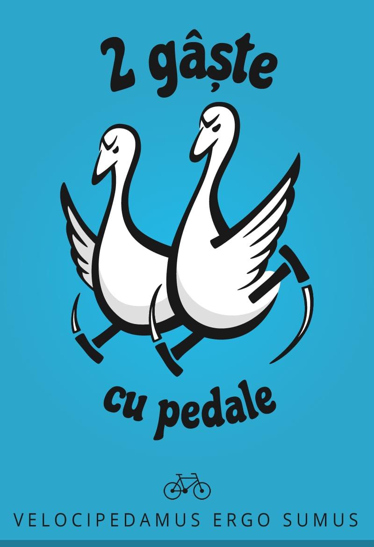 Două gâște cu pedale: trasee cu bicicleta
