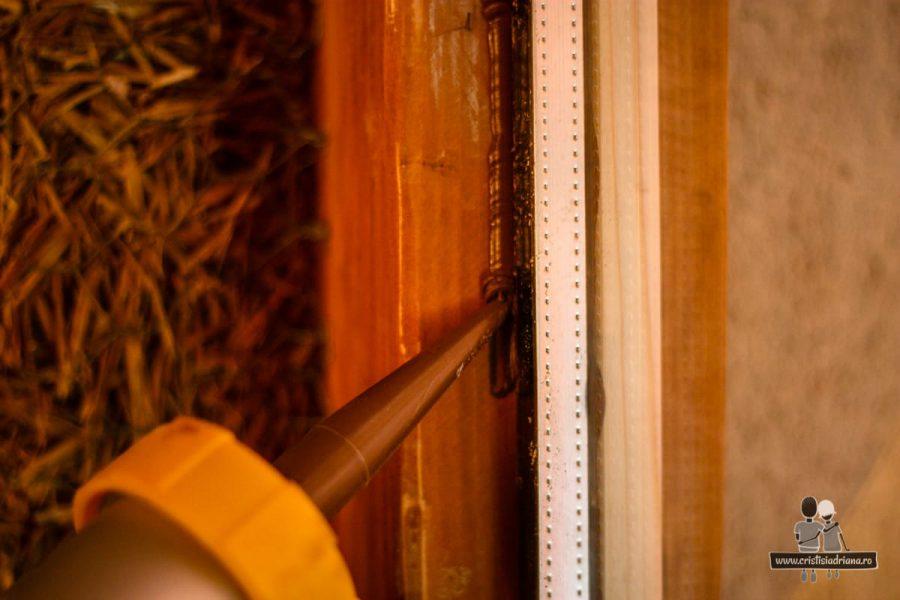 Sigilare geam cu silicon