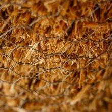 Pregătirea pereților din paie pentru tencuire