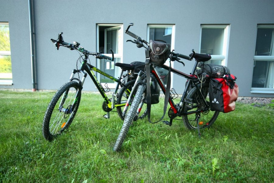 Biciclete gata de drum