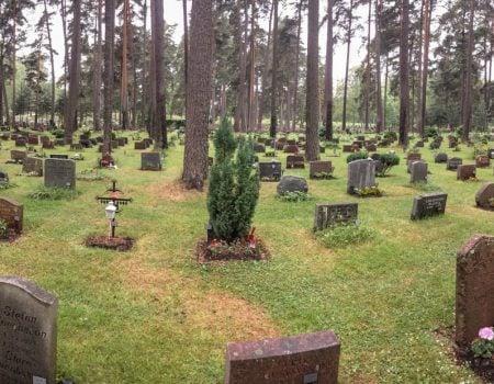 Un cimitir special