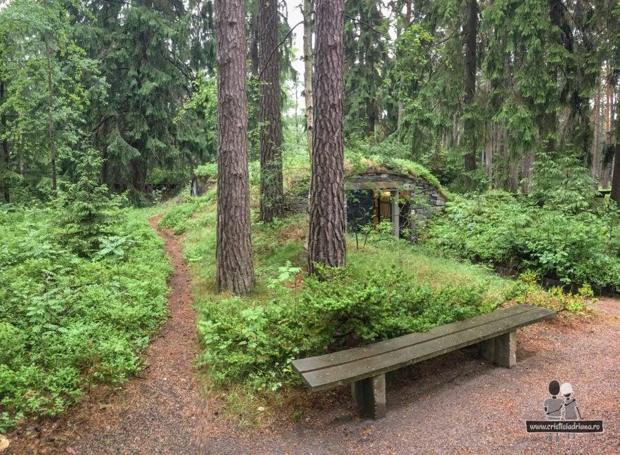 Casă de hobiți, lângă Skogskapellet