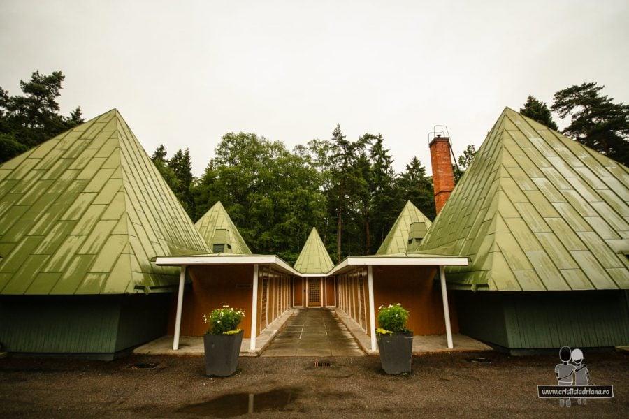 Centrul pentru vizitatori, cimitirul Stockholm