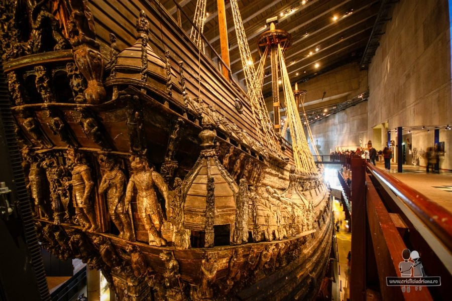 Corabia Vasa, după 333 de ani