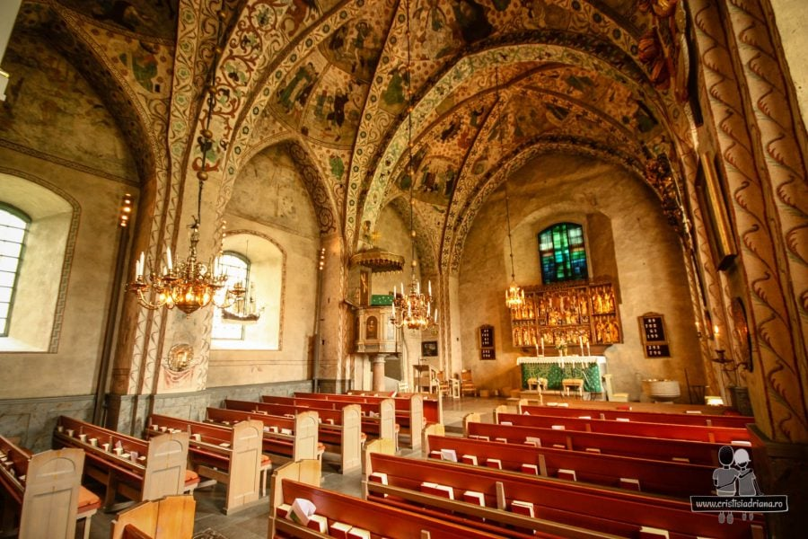 Interior Taby Kyrka