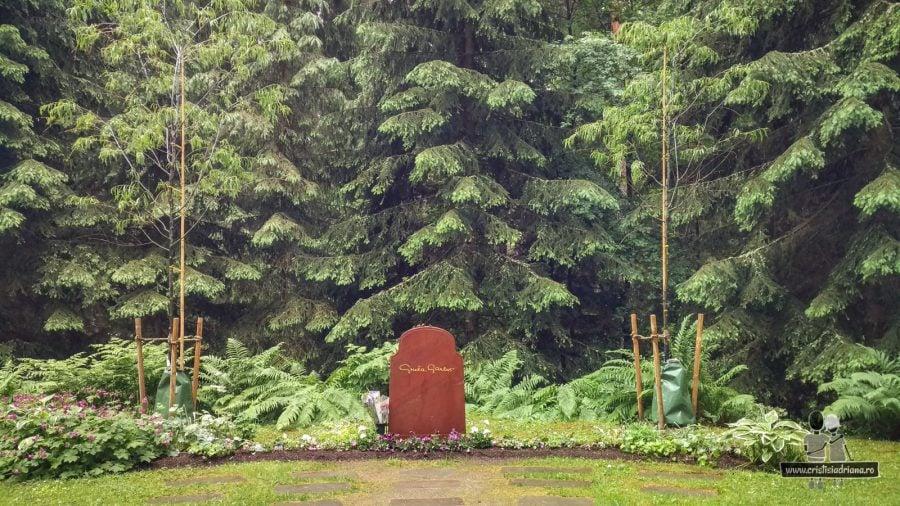 Mormântul Gretei Garbo, Stockholm
