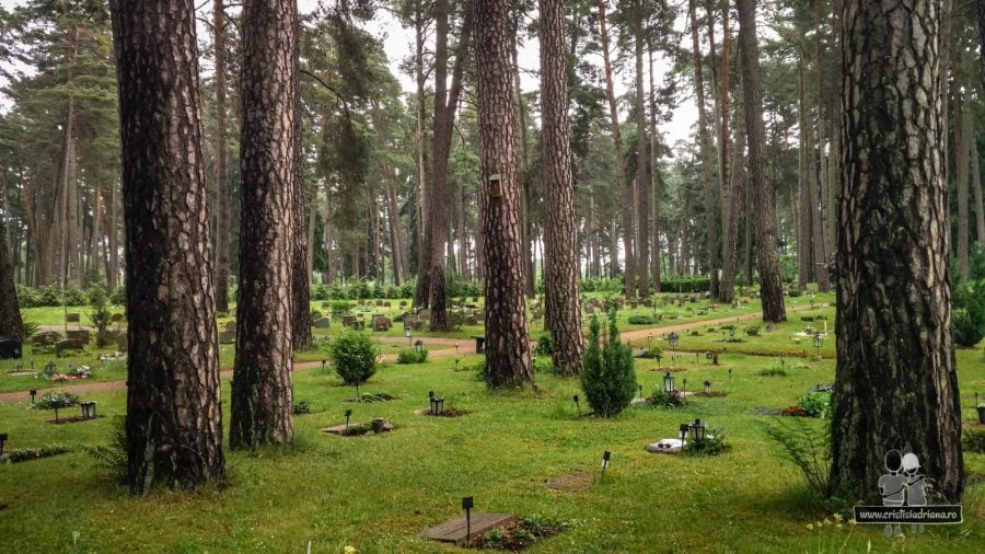 Morminte în pădure, Stockholm