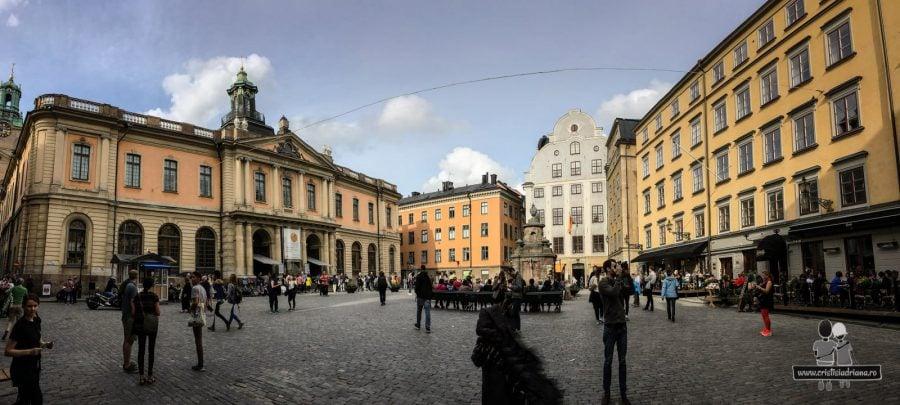 Piața Centrală din Stockholm, Suedia