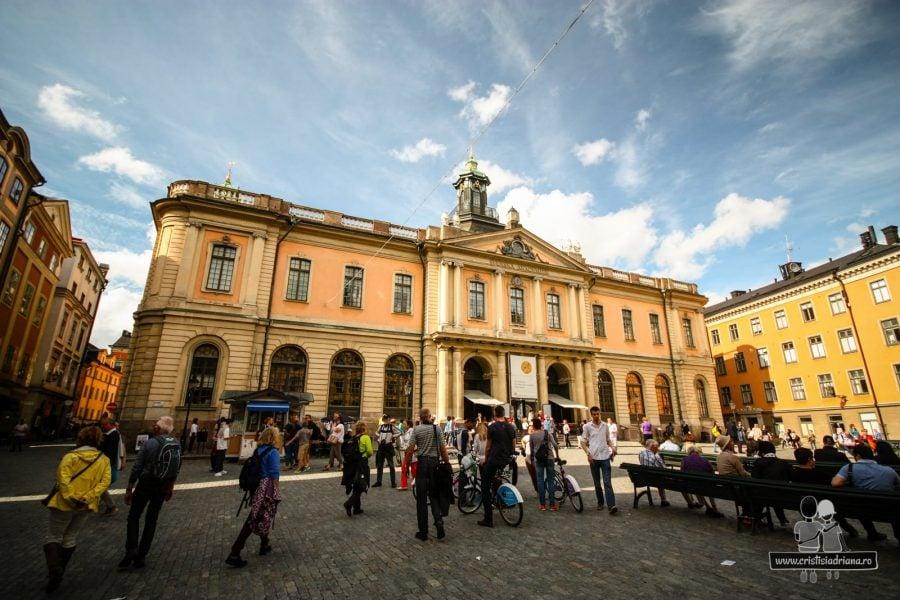 Muzeul Nobel, vechiul Stockholm