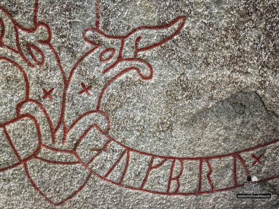 Detaliu runa lui Jarlabanke