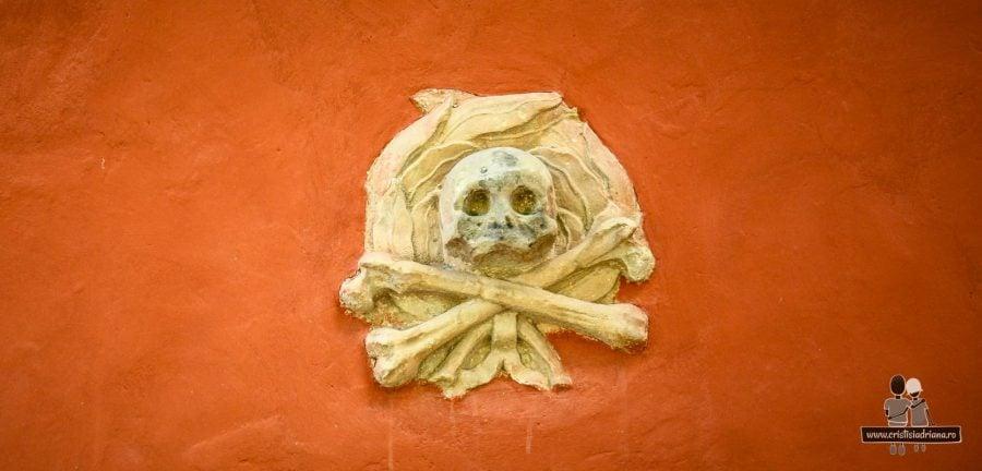 Craniu si oase, catedrala din Strangnas