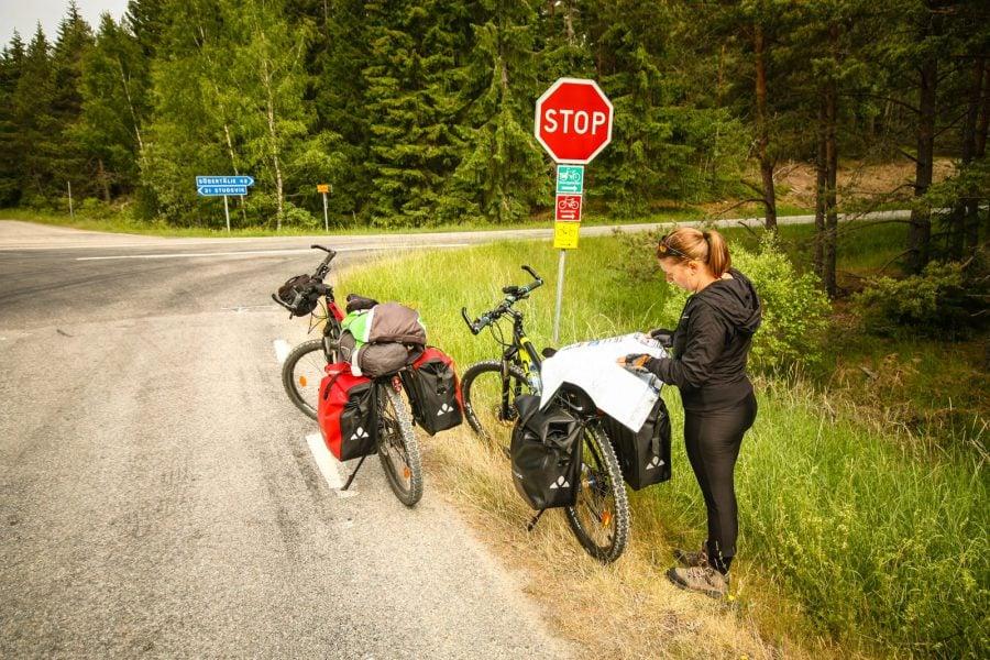 Trasee pentru bicicletă în Suedia
