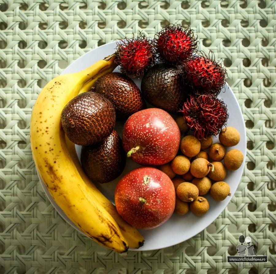 Platou fructe exotice