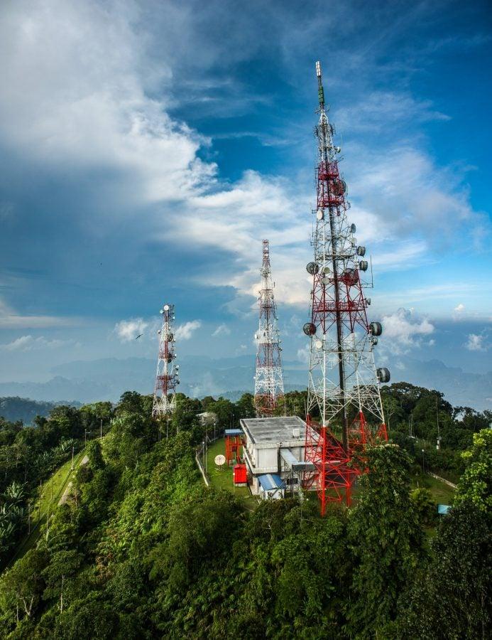 Antenele de pe Gunung Raya