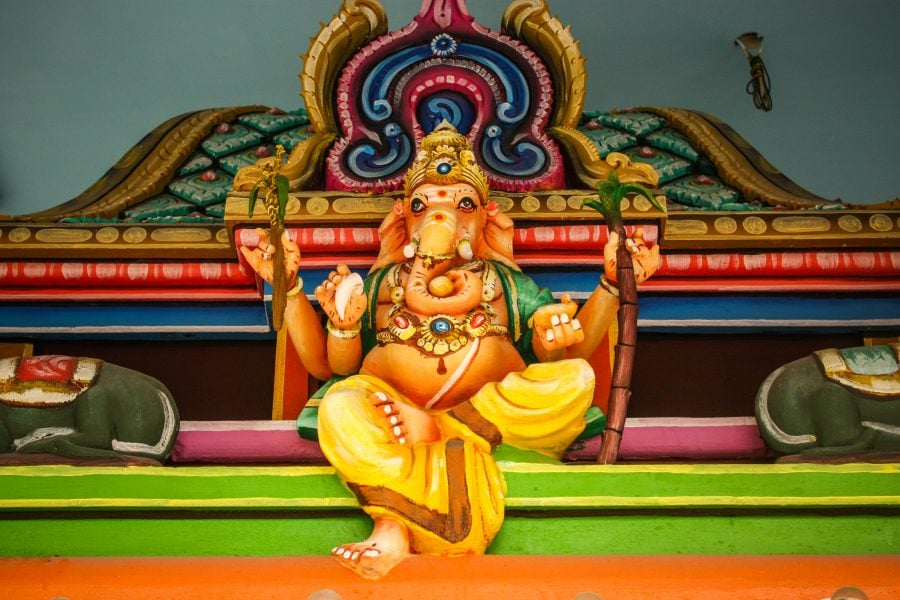 Ganesh colorat