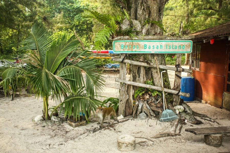 Insula Basah din arhipelagul Langkawi