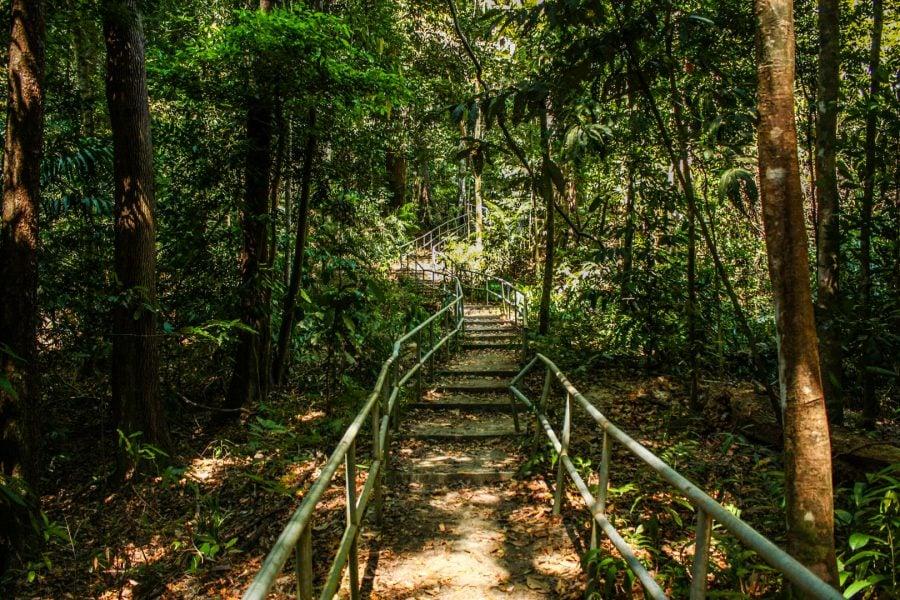 Scări către Gunung Raya, Langkawi
