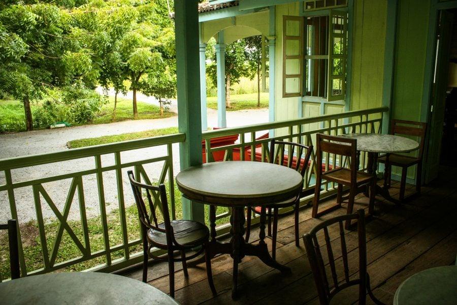 Terasă casă colonială BonTon Langkawi