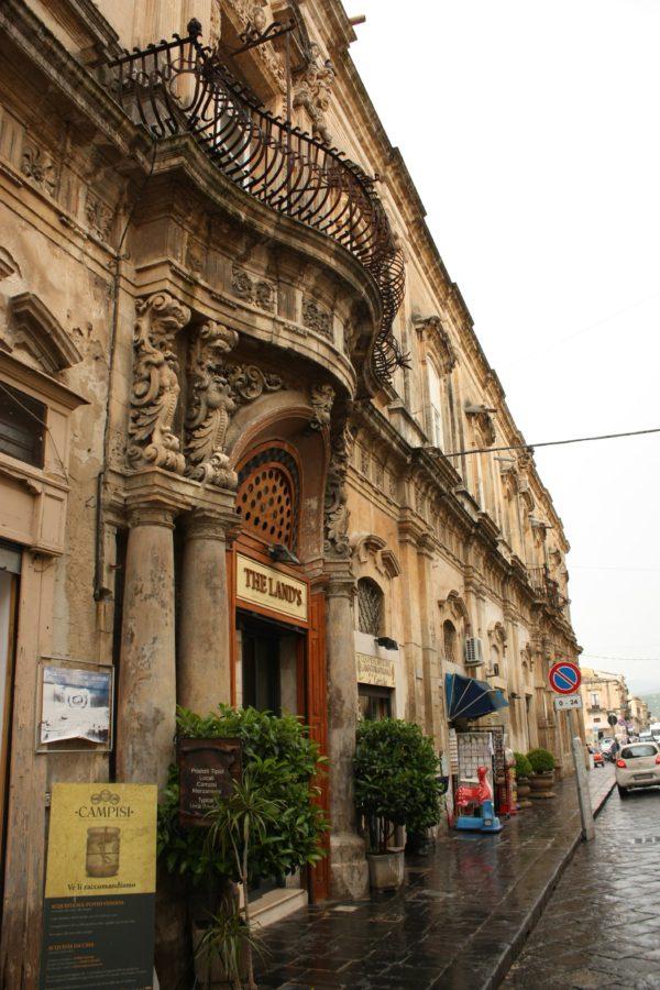 Cladire stil baroc, Noto, Sicilia