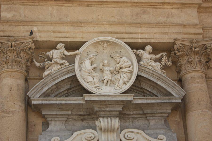 Frontispiciu clădire din Palermo