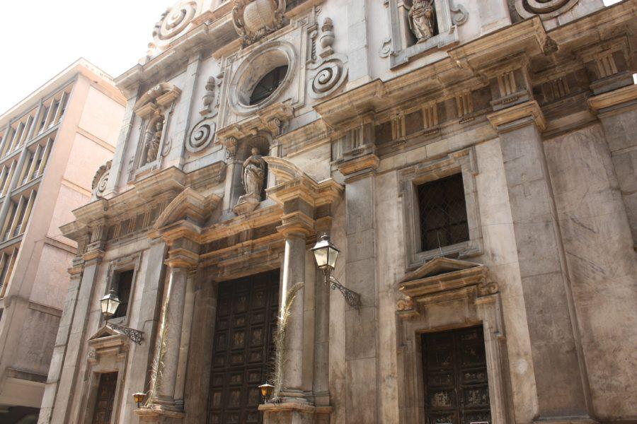 Clădire în stil baroc, Palermo, Sicilia
