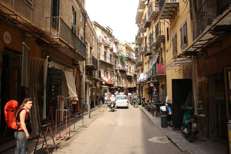 Pe străzile din Palermo