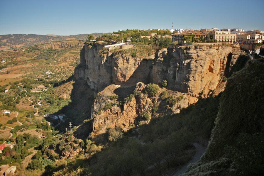 Vedere asupra văii din Ronda, Spania