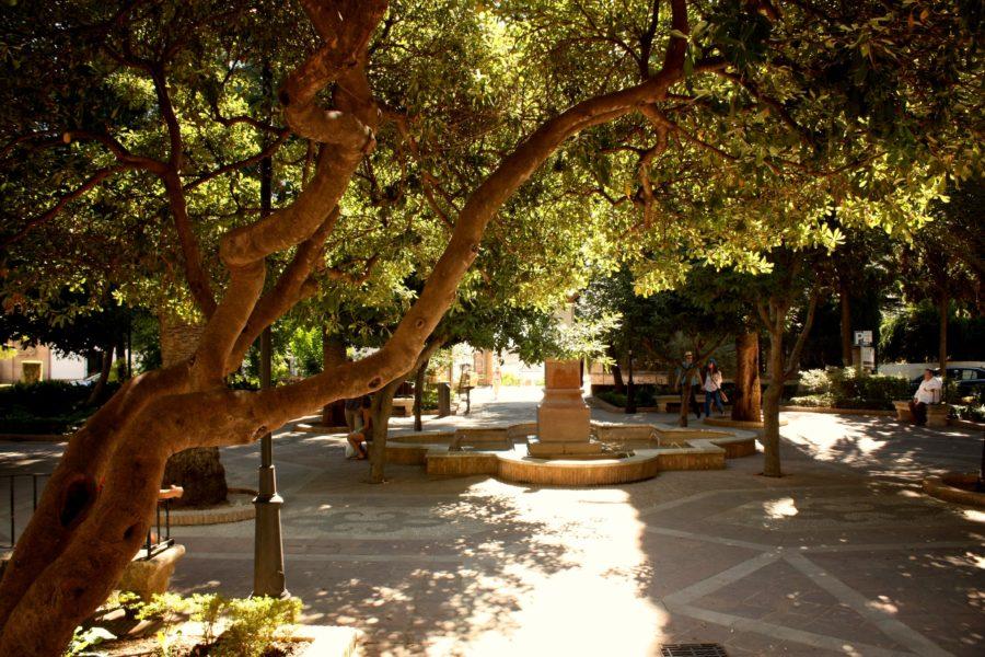 Parc în Ronda, Spania